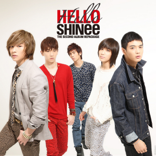 SHINee Обои containing a business suit and a well dressed person entitled Hello-Fanmade Album Cover