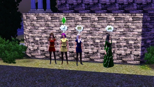 Hogwarts in SIMS 3