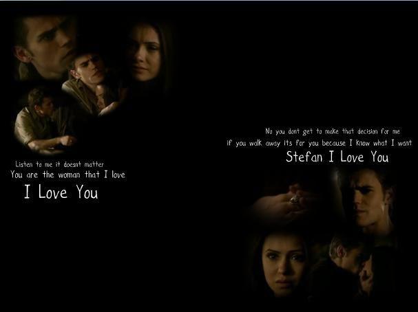 Stefan And Elena Love Vampire Diaries Quotes. QuotesGram