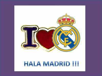 I luv Real Madrid