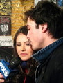 Ian/Nina vd mall tour  - ian-somerhalder-and-nina-dobrev photo