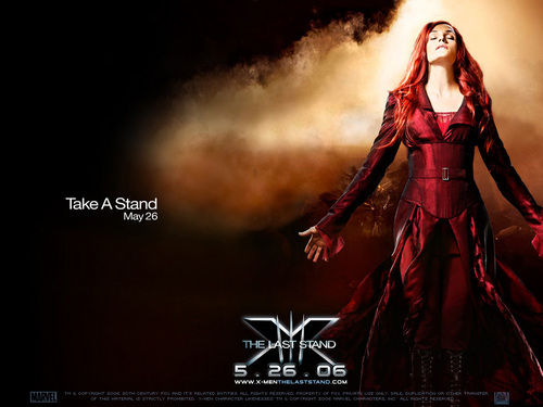 Jean Grey/Phoenix - female-ass-kickers Wallpaper