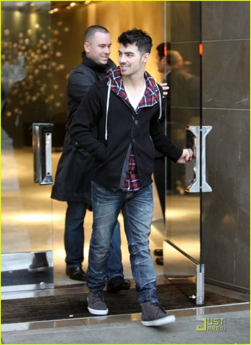 Joe Jonas: Rain, Rain, Go Away (December 20)