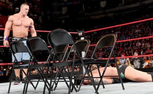 John Cena vs nexASS leader wade - Chairs Match