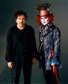 Johnny Depp + Tim Burton