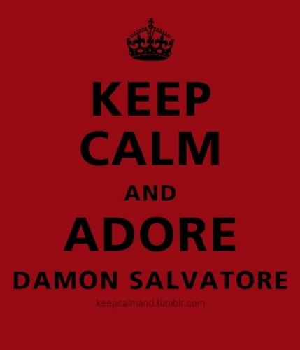 Damon Salvatore wallpaper entitled Just Adore Damon <333