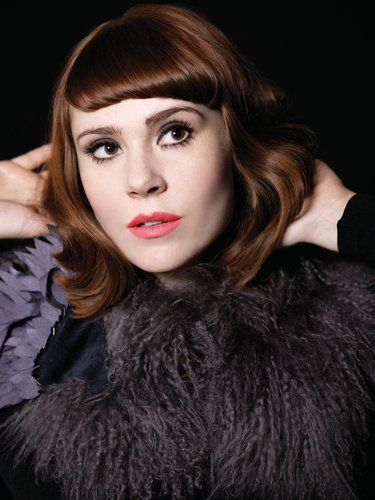 Kate Nash in Black with New Do