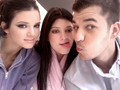 Kendall, Kylie, and Rob - kendall-jenner photo