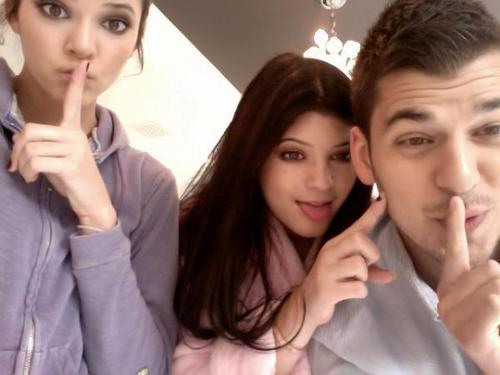 Kendall, Kylie, and Rob