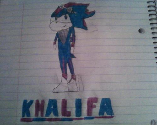 Khalifa The Hedgehog