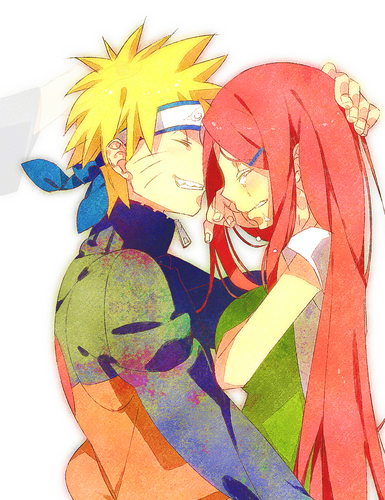 Kushina and Naruto