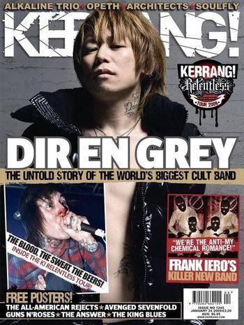 Kyo - Kerrang Cover