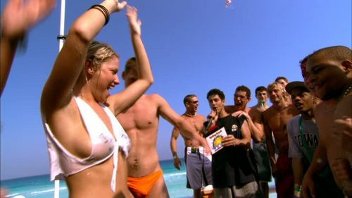 Laura Ramsey wallpaper possibly with a bikini entitled Laura in The Real Cancun:  Deleted Scenes