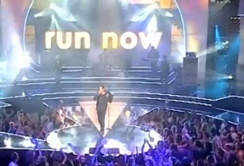 Let's just run now (Live from Megastar finale)