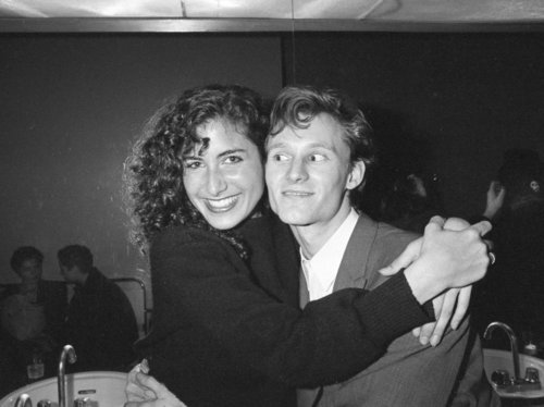 Lisa Edelstein and Ben Buchanan