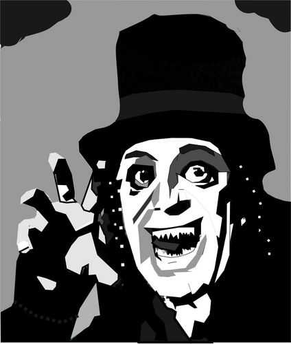 恐怖电影 壁纸 entitled Lon Chaney-London After Midnight