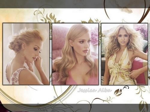 Lovely Jessica achtergrond