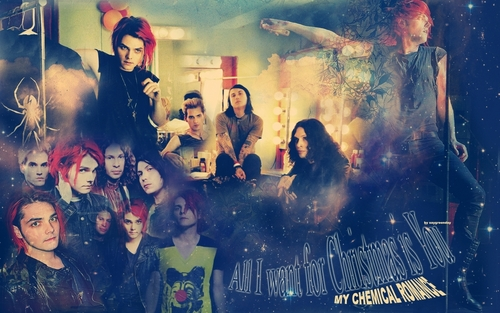 My Chemical Romance wallpaper possibly with a concert and anime called MCR WALLPAPER