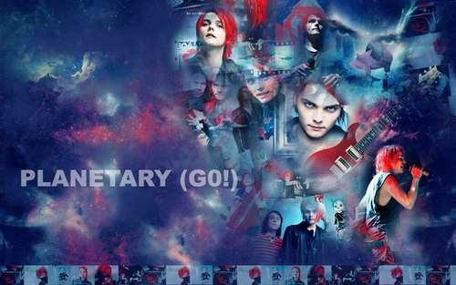 My Chemical Romance wallpaper with anime entitled MCR WALLPAPER