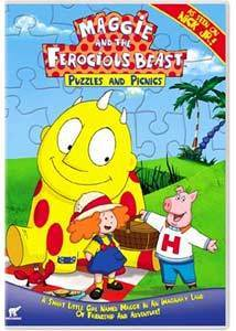 Maggie and the Ferocious Beast: Puzzles and Picnics