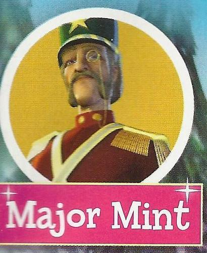 Major Mint in the magazine