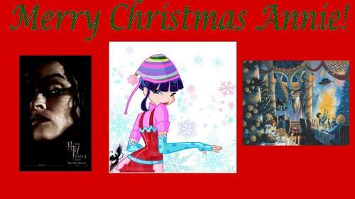 Merry বড়দিন Sweet Annie! ♥