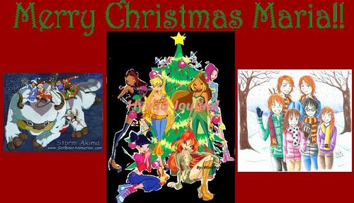 Merry Christmas Sweet Maria! ♥