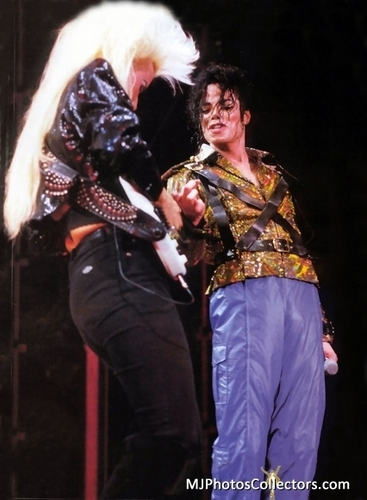 Michael Jackson Workin' দিন n Night- Dangerous Tour 1992