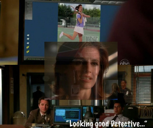 Kate Beckett wallpaper probably with a sign and a múltiplo, multiplexar, multiplex called Modeling