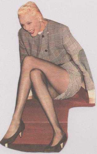 plus Brigitte Nielsen