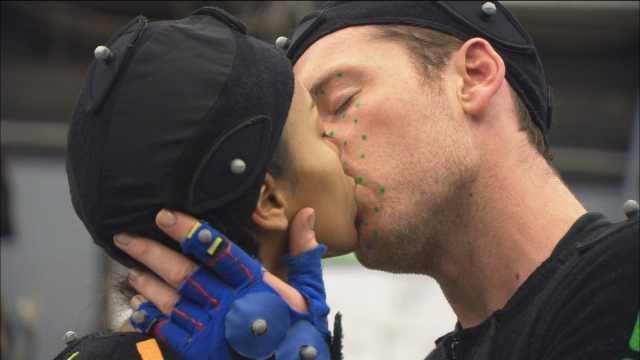 My 最喜爱的 screencap ♥Sam & Zoe♥ 接吻