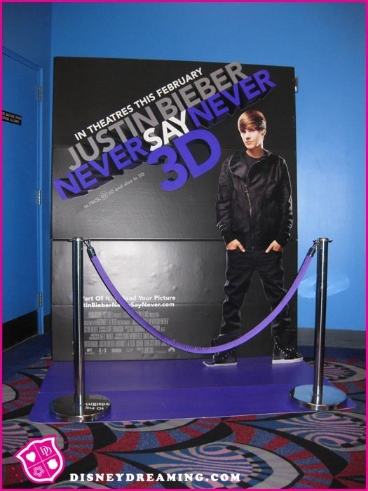 justin bieber never say never movie wallpaper. Never Say Never Movie Standee