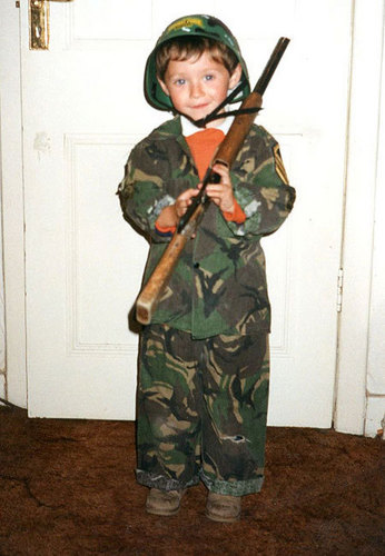 Niall as a kid awww adorable!!!