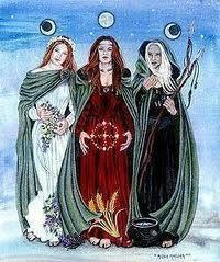 Norse Witch Magic, The Triple Goddess - norse-mythology Photo
