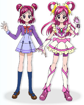 Nozomi and Cure Dream