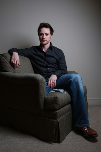 James McAvoy wallpaper with a couch, an easy chair, and a recliner titled Photoshoots