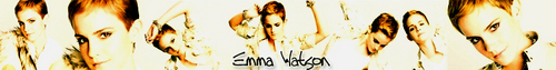 emma watson foto containing a grainfield called Possible spot banner