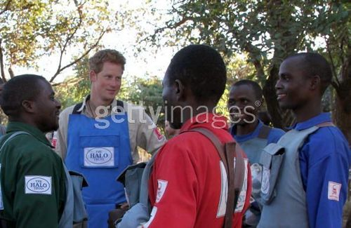 Prince Harry In Mozambique Visits Minefields Cleared Von The HALO Trust