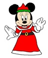 Queen Minnie - Christmas - minnie-mouse fan art