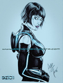 Quorra - tron-legacy fan art