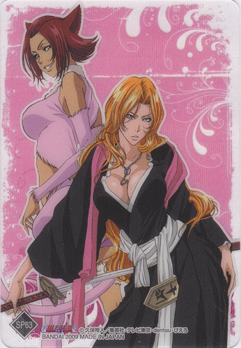 animé Bleach fond d'écran probably with animé titled Rangiku and Haineko