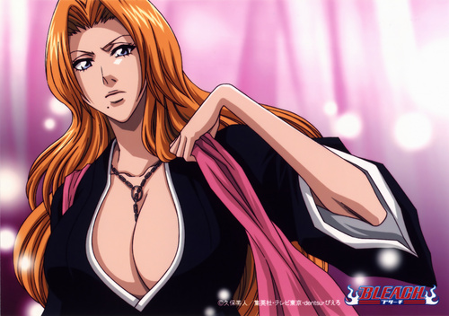 animê bleach wallpaper probably with animê and a portrait called Rangiku