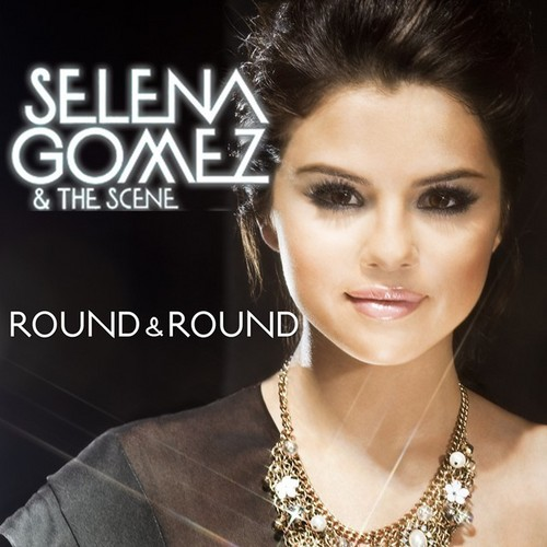 Selena Gomez wallpaper with a portrait titled Round & Round [FanMade Single Cover]