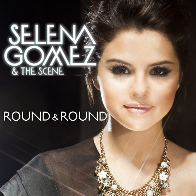 selena gomez round and round cover