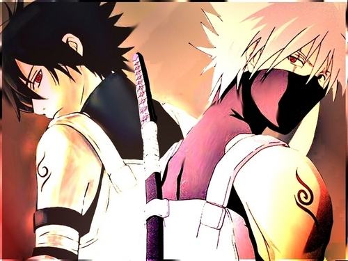 Sasuke and kakashi
