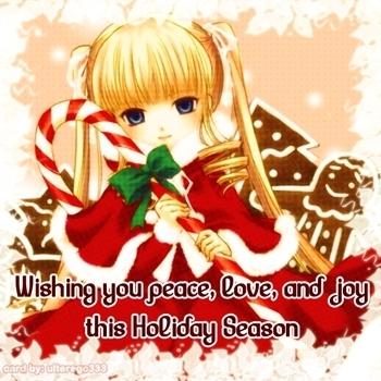 Shinku says Merry Chirstmas