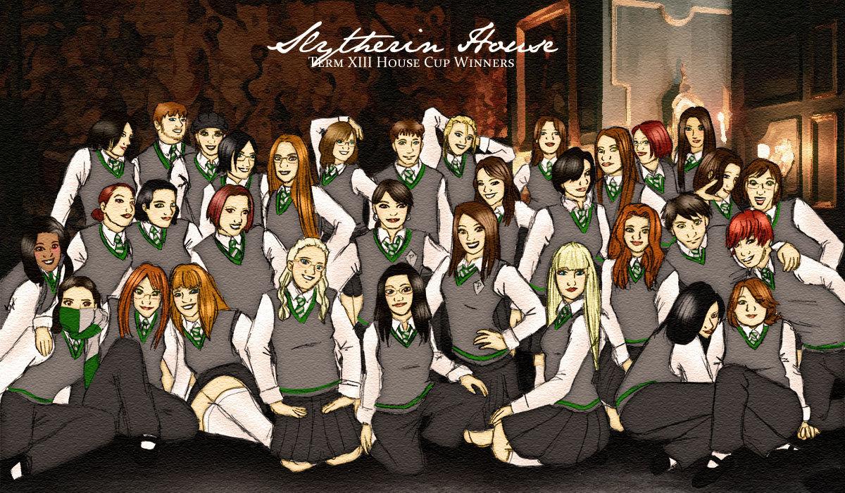 Slytherin Hogwarts House Rivalry Photo 17800963 Fanpop