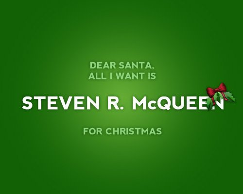 Steven R McQueen [Jeremy] for Christmas