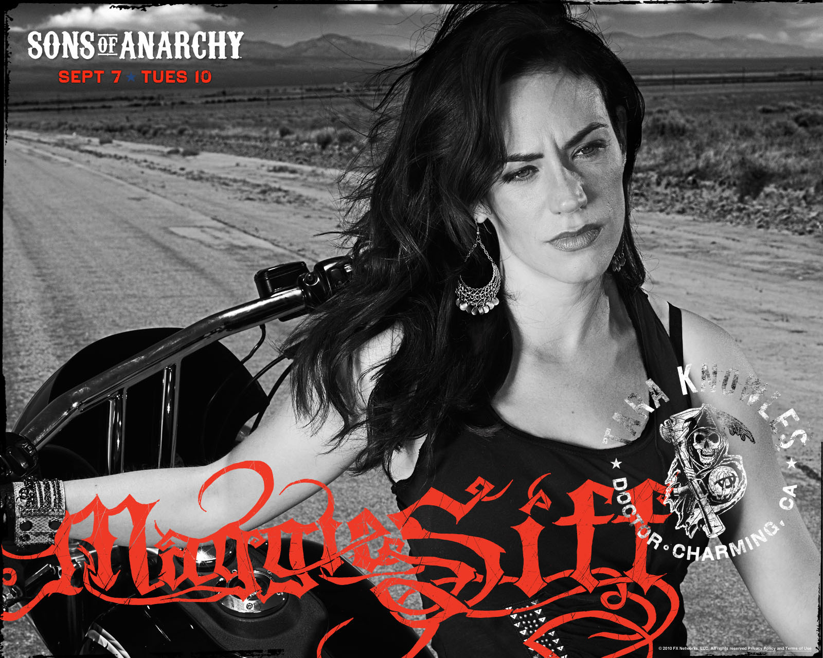 image Maggie siff from sons of anarchy
