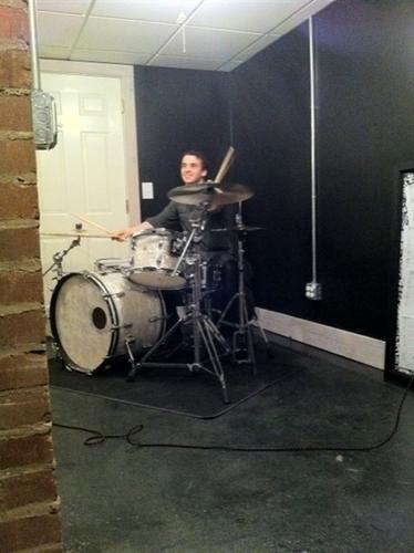 Taylor Jammin on Hayleys drums!
